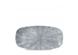 Stone Pearl Grey Chefs' Oblong Plate No 3