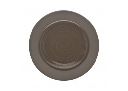 Bahia Brown Basalt Bread and Butter Plate