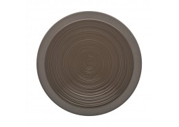 Bahia Brown Basalt Dinner Plate
