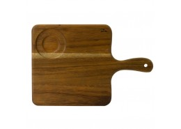 Acacia Wood Square Handled Board