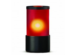 Ambeo Frosted Red Lamp