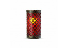 Goa Red Candle Holder