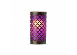Goa Violet Candle Holder