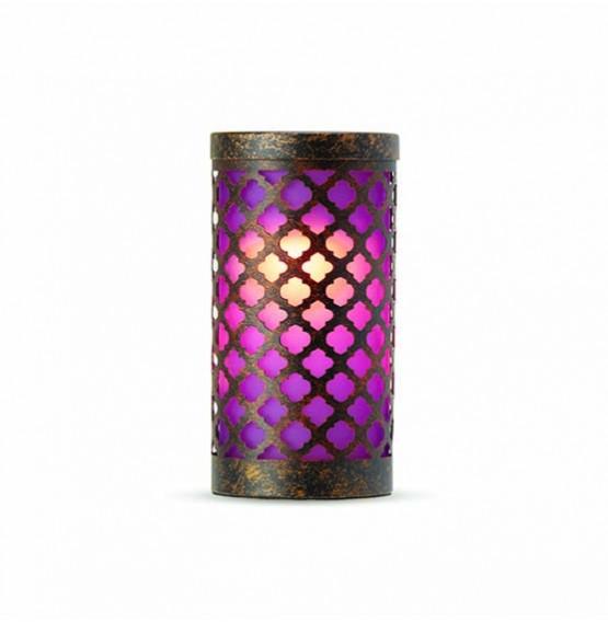 Goa Violet Candle Holder