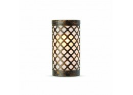 Goa White Candle Holder