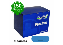 Astroplast Blue Detectable Assorted Plasters
