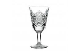 Hobstar Wine Glass