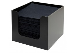 Napkin Holder Black