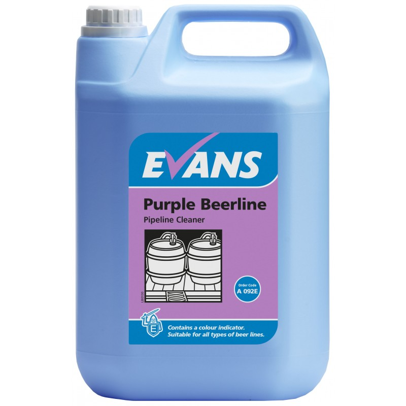 Bar Cleaning Service : Purple beerline cleaner ltr bar cleaning supplies