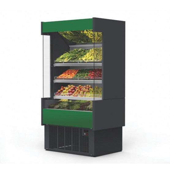 1.6m Refrigerated Fruit & Veg Multideck