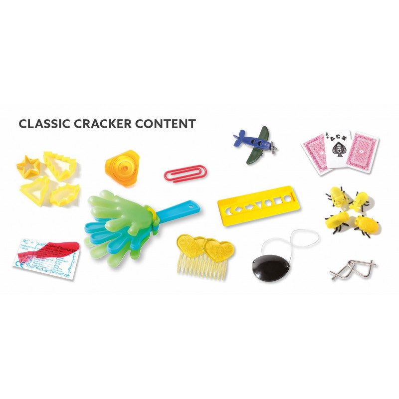 Christmas Cracker Toys.Duni Christmas Time 12 Christmas Crackers James Kidd