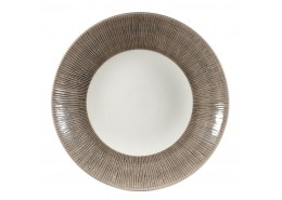 Bamboo Dusk Deep Coupe Plate