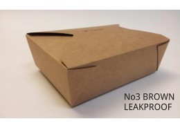 No.3 Leakproof Bio Kraft Box