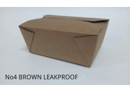 No.4 Leakproof Bio Kraft Box