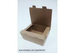 No.8 Leakproof Bio Kraft Box F/Depth