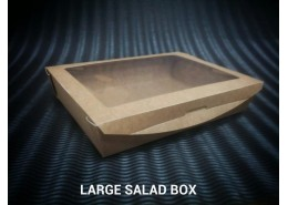 Large Leakproof Kraft Bio Salad Box