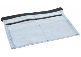 Light Blue Denim Money Apron