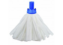 Big White Exel Socket Mop Blue