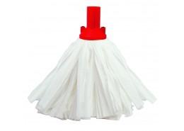 Big White Exel Socket Mop Red