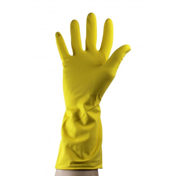 Rubber Gloves Yellow