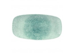 Raku Jade Green Chefs' Oblong Plate No.3
