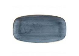 Stonecast Blueberry Chefs' Oblong Plate No.4