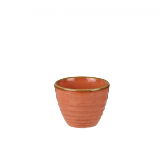 Stonecast Spiced Orange Ripple Dip Pot