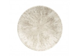 Stone Agate Grey Coupe Plate