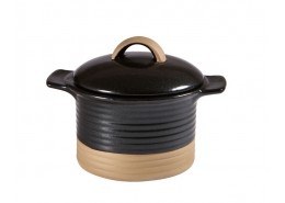 Igneous Black Cocotte and Lid
