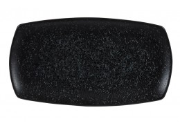 Menu Shades Caldera Ash Black Large Rectangular Plate