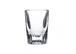 Fluted Shot Glass Lined 1oz