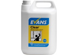 Clear Window & Glass Cleaner