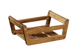 BBQ Passion Wooden Condiment Tray