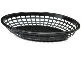 Black Oval Basket