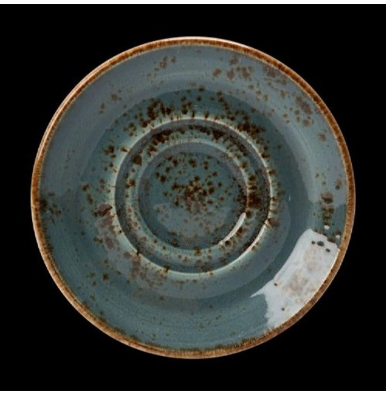 Craft Blue Stand/Saucer Double Well