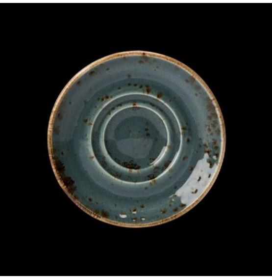 Craft Blue Saucer Double Well