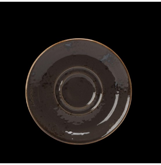Craft Grey Stand/Saucer Double Well
