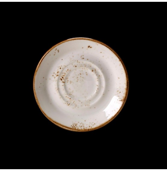 Craft White Stand/Saucer Double Well