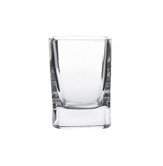 Strauss Shot Crystal Glass