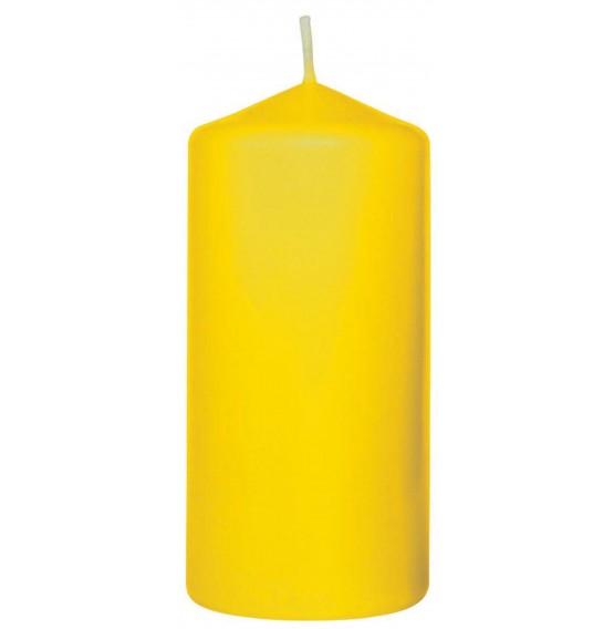 Duni Pillar Candles Yellow