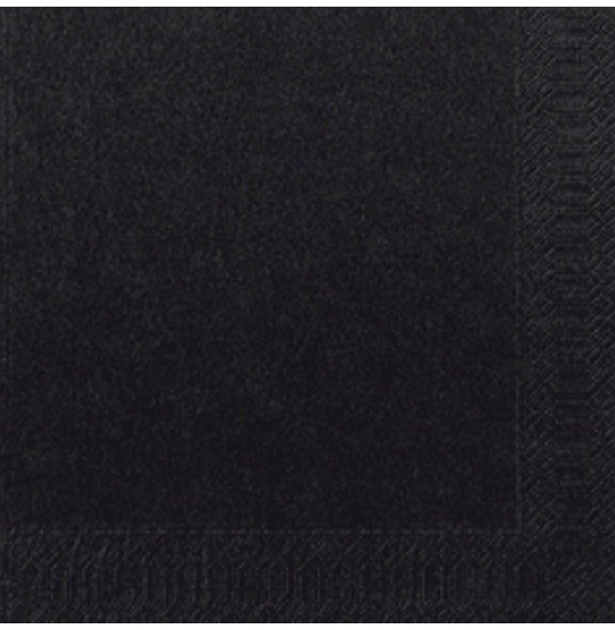 Duni Tissue Napkins 2ply Black