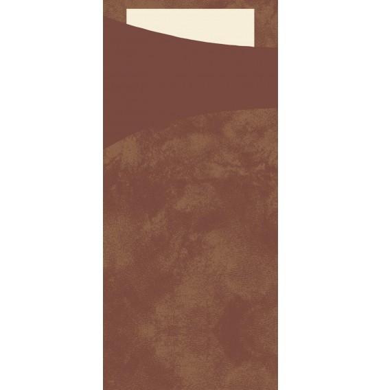 Duni Sacchetto Tissue Chestnut