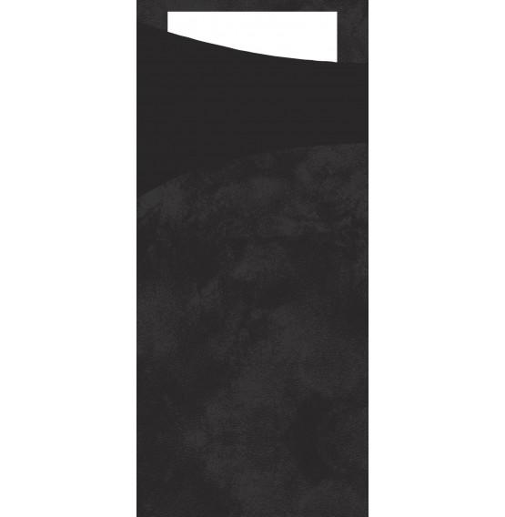 Duni Sacchetto Tissue Black Napkin