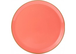 Seasons Coral Pizza Plate