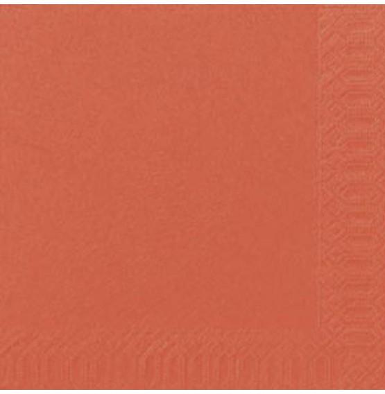 Duni Tissue Napkins 3ply Mandarin