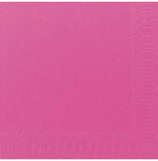 Duni Tissue Napkins 3ply Fuchsia
