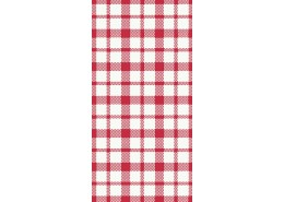 Duni Giovanni Red 8 Fold Napkins 3ply