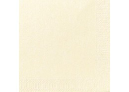 Duni Tissue Napkins 2ply Cream