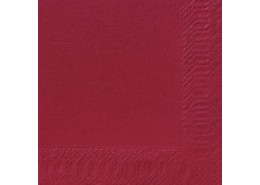 Duni Tissue Napkins 2ply Bordeaux