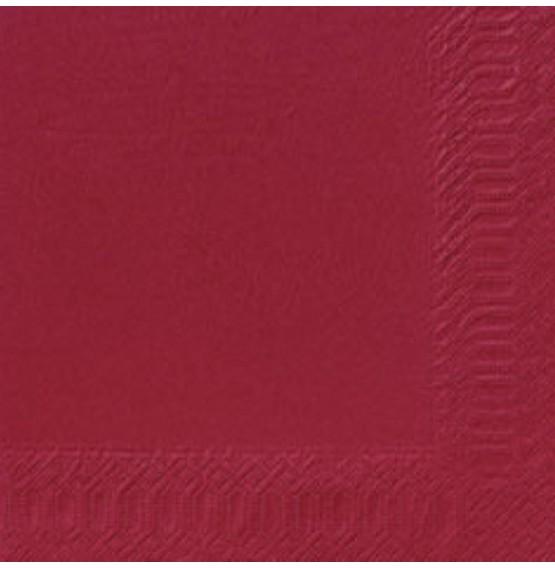 Duni Tissue Napkins 2ply Bordeaux